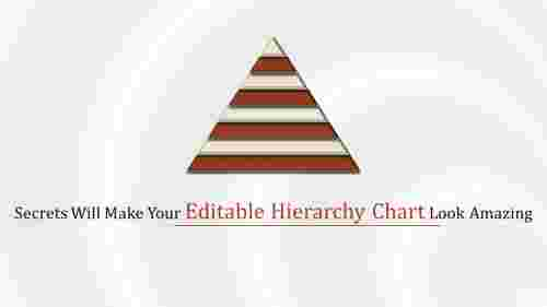 editable hierarchy chart in pyramid model