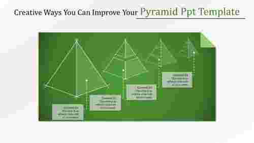 pyramid PPT template
