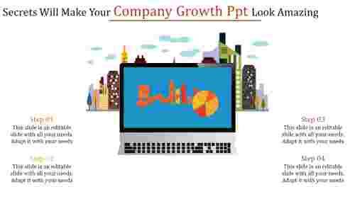 company growth PPT