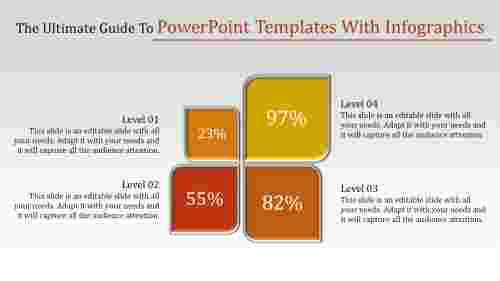 Growth powerpoint templates with infographics