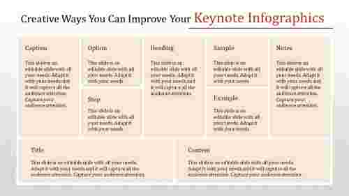 keynote infographics