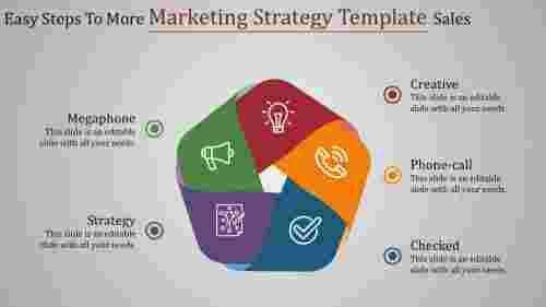 Infographic Marketing Strategy Template-Circular model