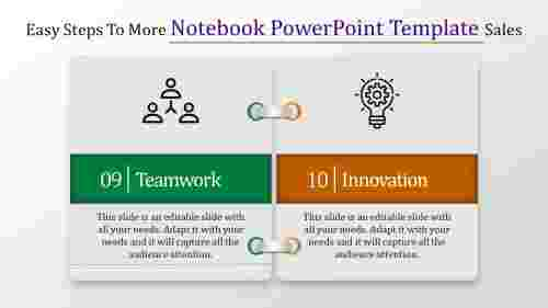notebook powerpoint template-Easy Steps To More Notebook Powerpoint Template Sales-Style-4