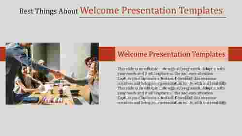 welcome presentation templates-Best Things About Welcome Presentation Templates