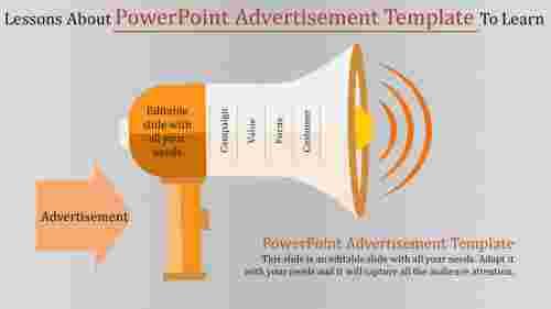 PowerpointadvertisementtemplateSpeakerShape