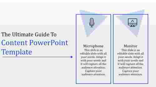 content powerpoint template
