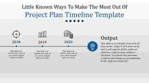 affixed project plan timeline template