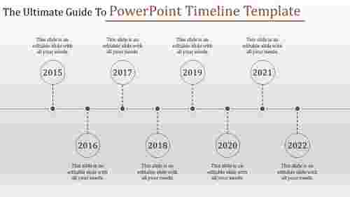 Best Powerpoint Timeline Template presentation