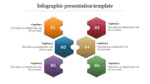 Creative infographic presentation template