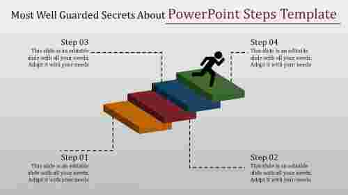 powerpoint steps template