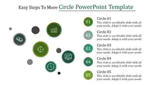 circle powerpoint template - Circular-loop