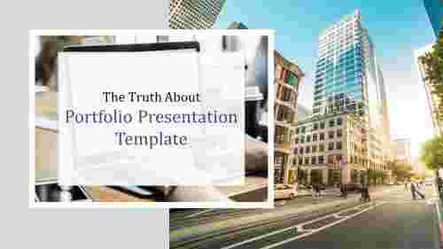 best portfolio powerpoint template 2017 free