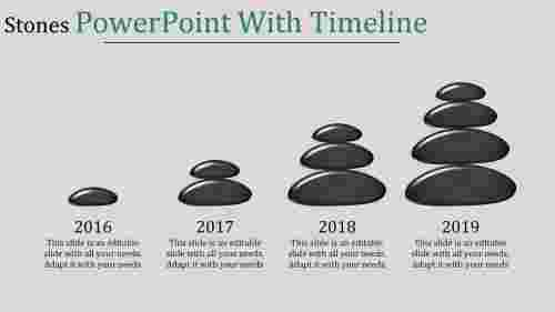 powerpoint with timeline-Stones Powerpoint With Timeline