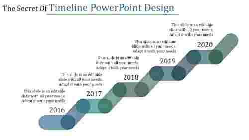 timeline powerpoint graphic design