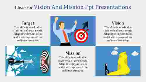 Prtfolio vision and mission PPT presentations