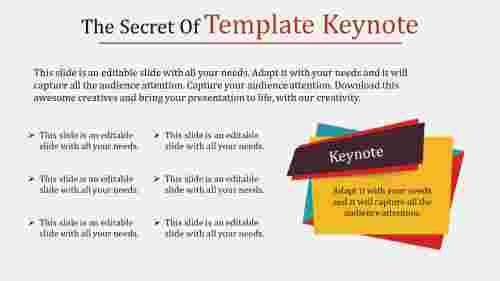 template keynote