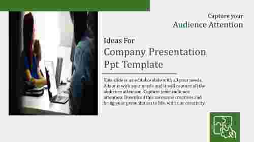 company presentation ppt template