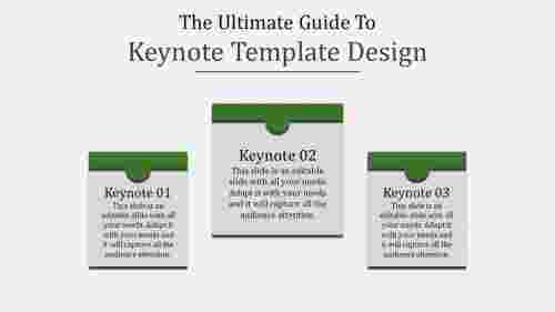 keynote template design