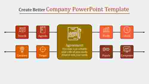 company powerpoint template