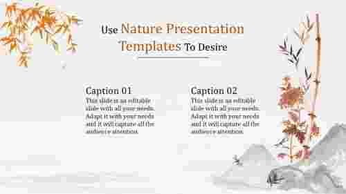 nature presentation templates-Use Nature Presentation Templates To Desire
