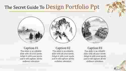 design portfolio ppt-The Secret Guide To Design Portfolio Ppt