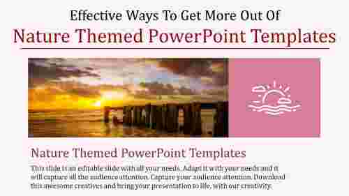 nature themed powerpoint templates