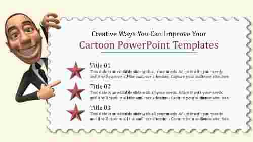 cartoonpowerpointtemplates-executive