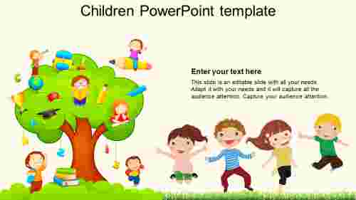 children powerpoint template