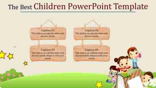 Amazingchildrenpowerpointtemplate