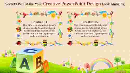 colorful creative powerpoint design