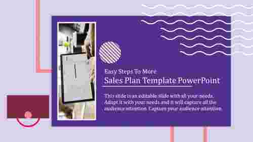 sales plan template powerpoint with amazing design