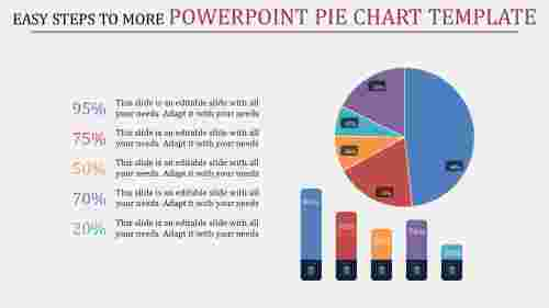 Attractive powerpoint pie chart template