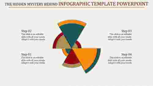Simple infographic template powerpoint