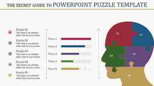 Developmental powerpoint puzzle template