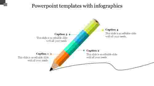 powerpointtemplateswithinfographics-Pencilmodel