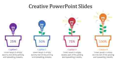 creative powerpoint slides tree model