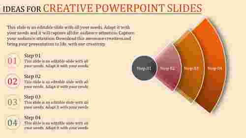 creative powerpoint slides - curved arcs