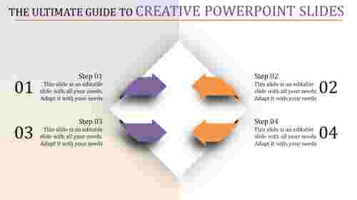 Diamonds  Creative Powerpoint Slides - Arrows