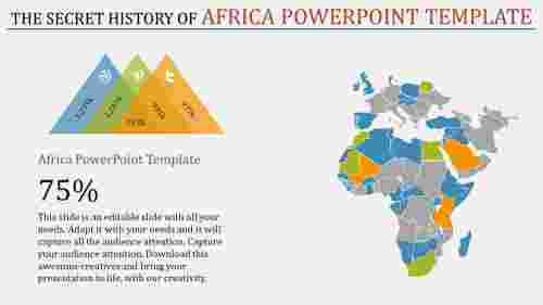 africa powerpoint template-The Secret History Of Africa Powerpoint Template