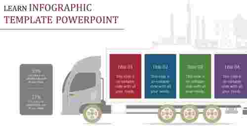 Truck Infographic Powerpoint Template