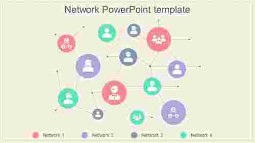virtual network powerpoint template