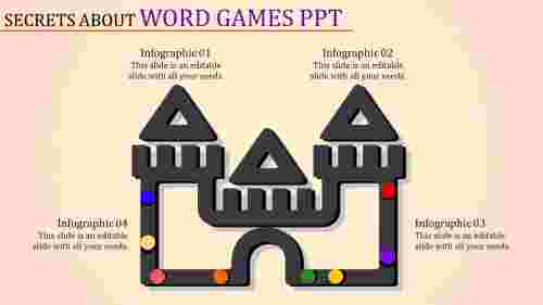 E-shaped word games PPT