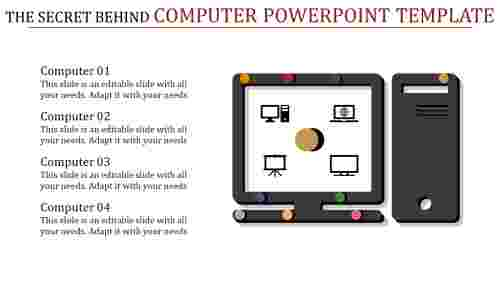 Technology-based computer PowerPoint template
