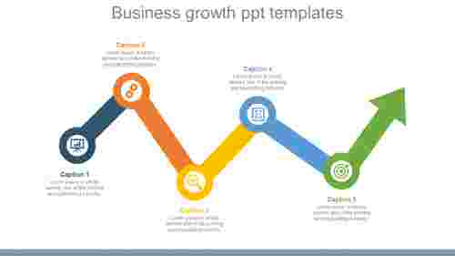 Target Business Growth Powerpoint Templates