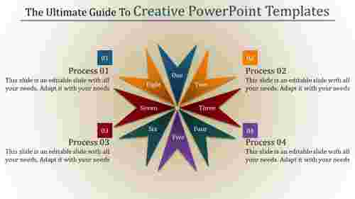 creative powerpoint templates with excellent shapes