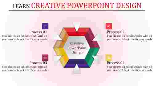 creative powerpoint design with incredible shapes