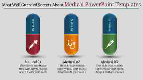 Multicolor medical powerpoint templates - Tablet model new