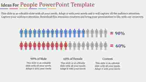 people powerpoint template-Ideas For People Powerpoint Template