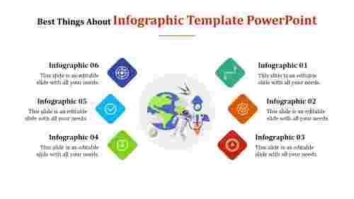 infographic template powerpoint - inventions