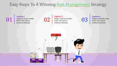 risk management ppt-Easy Steps To A Winning Risk Management Strategy-4-style 1